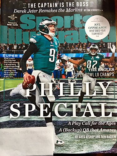Sports Illustrated Magazine February 12, 2018, Philly Special, Philadelphia Eagles, Super Bowl...