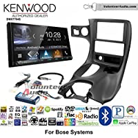 Volunteer Audio Kenwood DMX7704S Double Din Radio Install Kit with Apple CarPlay Android Auto Bluetooth Fits 1997-2004 Corvette (With Bose)