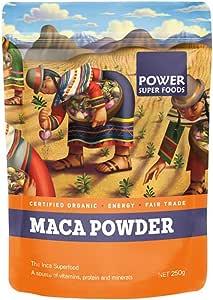 Power Superfoods Organic Maca Powder, 250g