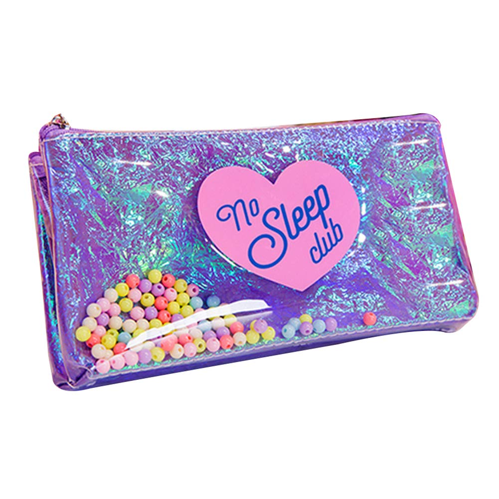 Finance Plan Hot New Portable Women Holographic Two-Sided Makeup Storage Cosmetic Bag Pencil Holder