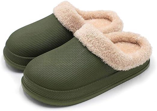 Además de Terciopelo de algodón Acolchado Zapatos de Interior ...