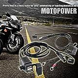 MOTOPOWER MP0609EA 3.1Amp Waterproof Motorcycle