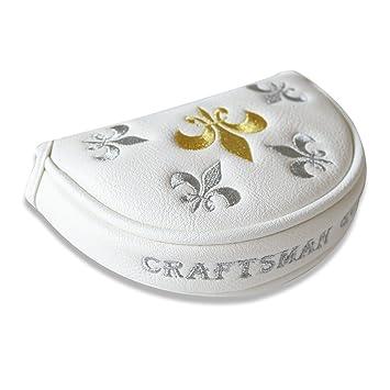 Craftsman plateado y dorado Trident de la mitad palo de ...