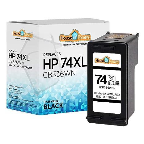 Amazon.com: houseoftoners houseoftoners HP 74 X L (cb336 W ...