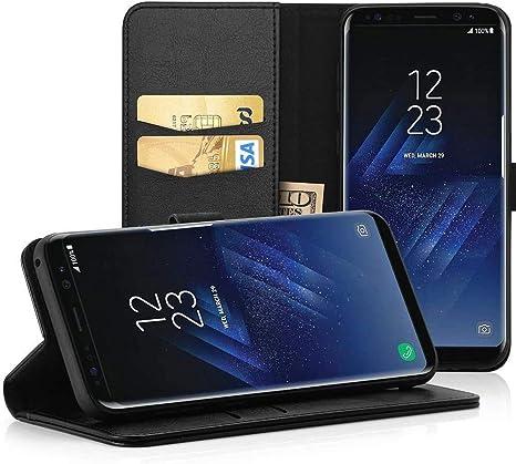 Easyacc Hülle Case Für Samsung Galaxy S8 Lederhülle Pu Elektronik