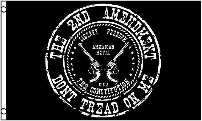 Don/'t Tread on Me 2nd Amendment Flag 3x5 ft Pistols Gun Owner Second 1789 Trump