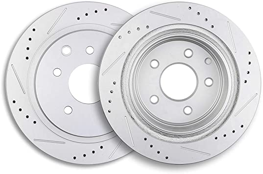 2007 2008 2009 Fits Nissan Quest OE Replacement Rotors w//Metallic Pads F