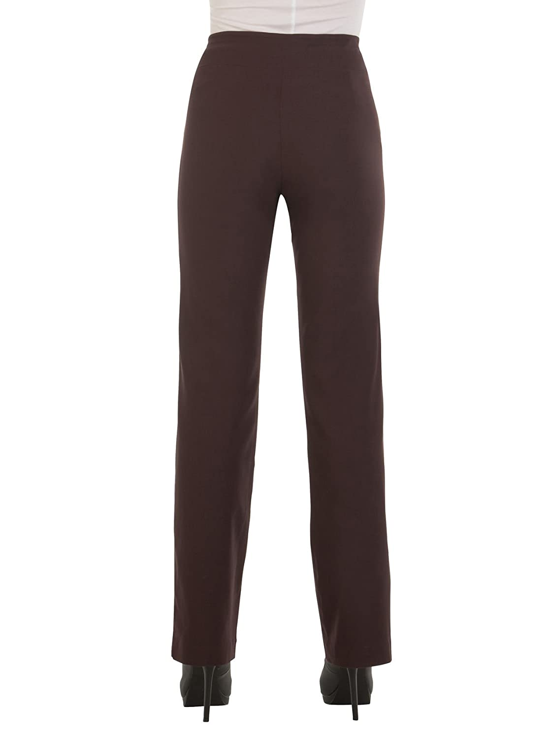 1655fc01efe4c Red Hanger Bootcut Dress Pants for Women -Stretch Comfy Work Pull on Womens  Pant at Amazon Women s Clothing store