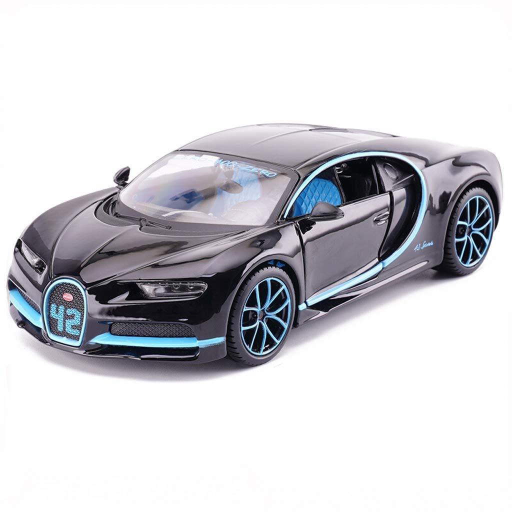 GXL- Bugatti Veyron Car Model 1 24 Simulazione Sports Car Toy Car Metallo Toy Lega Car Model Car Toy