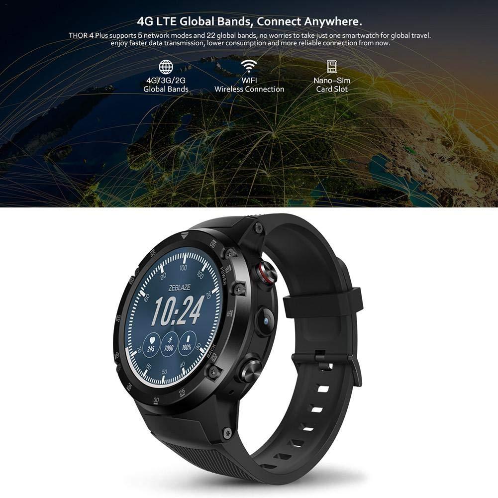 H-sunshy Reloj inteligente Zebraze THOR 4 Plus, Bluetooth de ...