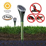 Best Snake Repellents - KINGMAZI Solar Powered Snake Repellent for Outdoor, Electronic Review