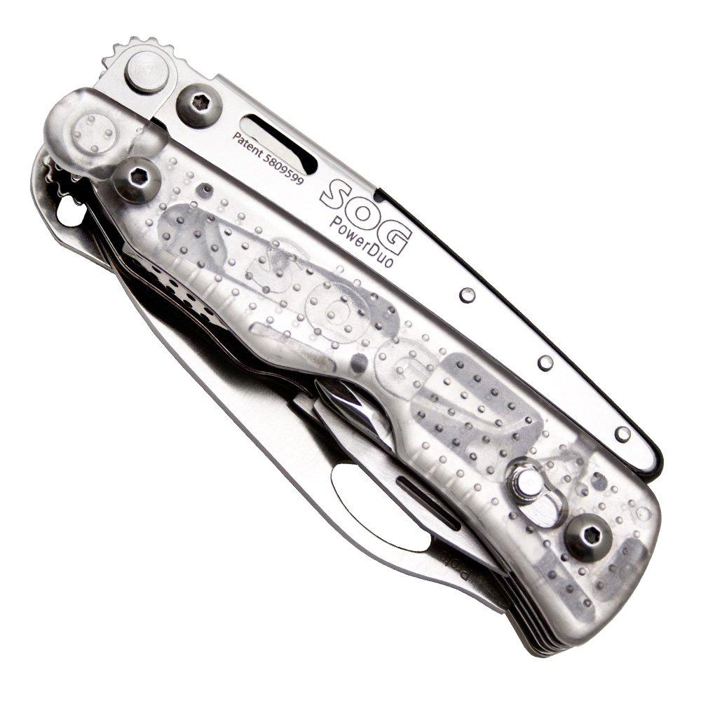 SOG Specialty Knives Werkzeuge pd01 N-cp N-cp N-cp PowerDuo Multitool mit gerader Kante Klinge und Nylon Scheide B0073H2SXK | Schnelle Lieferung  2b6f8e