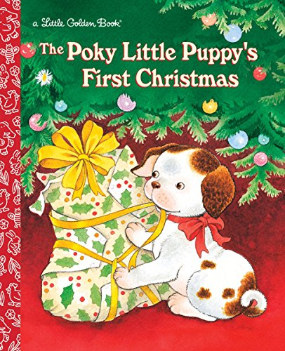 - The Poky Little Puppy's First Christmas (Little Golden Book)