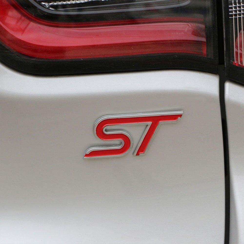 ABS Plastic Emblem ST Sticker Label 3D ST Logo Sticker Sport Style for Ford Focus Fiesta Ecosport Kuga Mondeo Everest Accessory