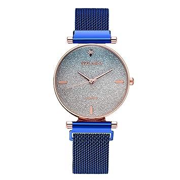 Amazon.com: Bokeley - Reloj de pulsera analógico de cuarzo ...