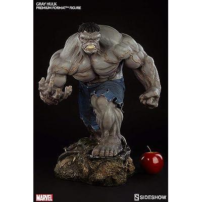 Marvel Grey Hulk Premium Format Figure: Toys & Games