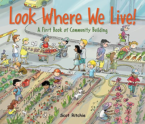 Look Where We Live!: A First Book of Community Building by Kids Can Press (Image #3)