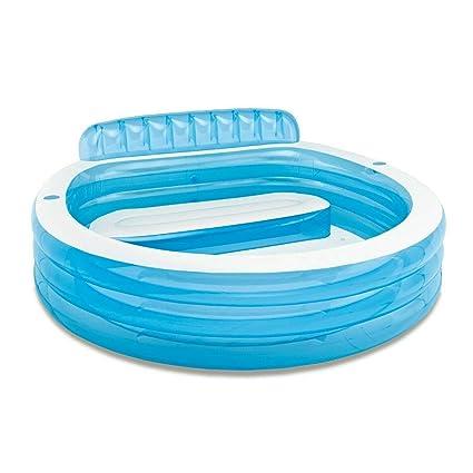 Amazon.com: Gran centro de natación inflable, sala de estar ...