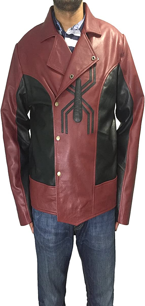 Parevaas Superman Mens PU Leather Jacket