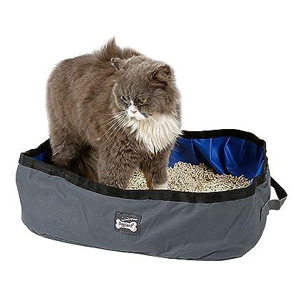 Butterme Portátil Plegable de Viaje de Mascotas,Caja de Gato Al Aire Libre,46