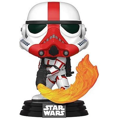Funko Star Wars: The Mandalorian - Incinerator Stormtrooper, Multicolored: Toys & Games