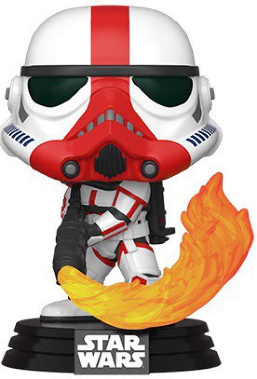 Funko Star Wars: The Mandalorian - Incinerator Stormtrooper, Multicolored