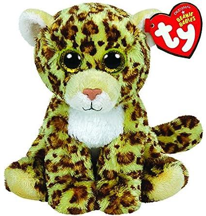 Amazon Com Ty Classic Spotty The Leopard Plush Toys Games