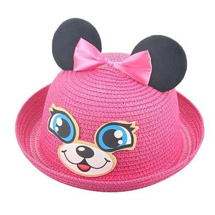 Sombreros y gorras Bebé, ❤️Amlaiworld Sombrero de Paja Bebé niñas niño Gorro de Sol