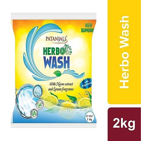 Patanjali Herbo Wash Detergent Powder - 2 kg