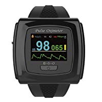 Bluetooth-Enabled 50F Plus Wrist Pulse Oximeter Heart Rate Monitor with Innovo SnugFit...