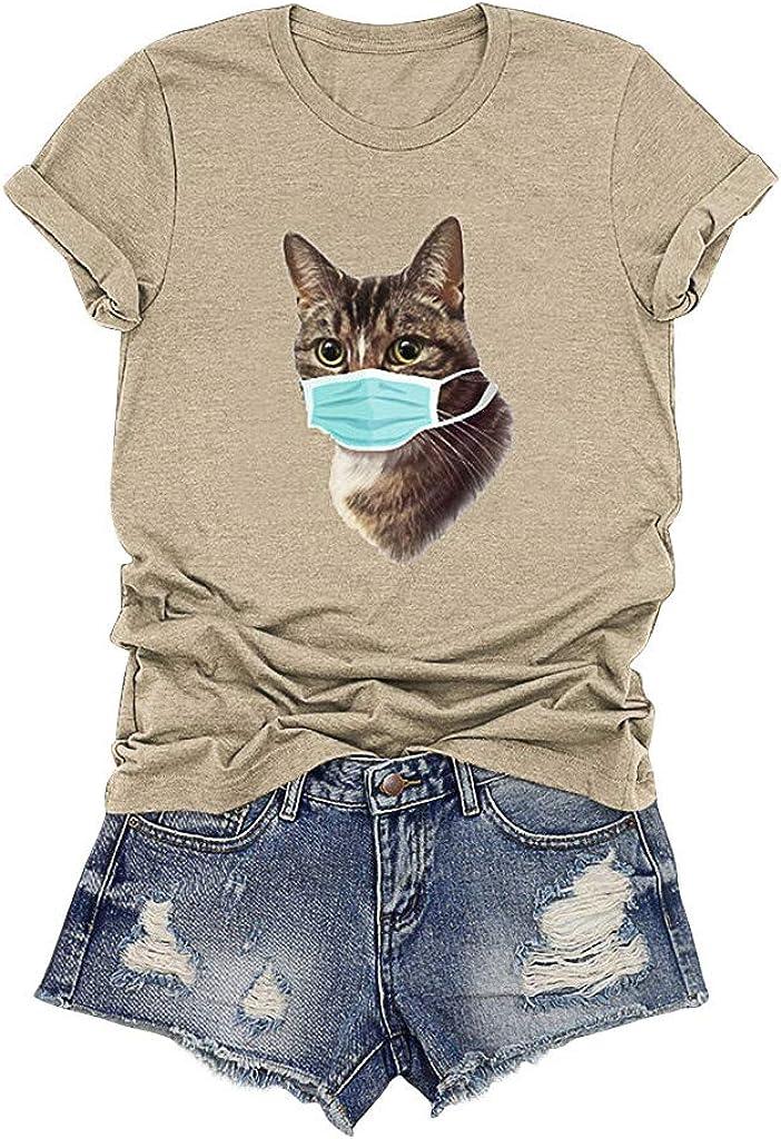 iYBWZH 2020 T Shirts Women Cute Graphic Basic Short Sleeve T Shirts Summer Casual Tops