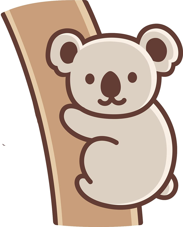 Amazon Com Cute Adorable Kawaii Australian Koala Hanging On A Tree Cartoon Vinyl Sticker Automotive When tree kangaroo and koala dig a well to get some water, tree kangaroo ends up doing all of the work and koala ends up with a 2 hours of 64 zoo lane : cute adorable kawaii australian koala