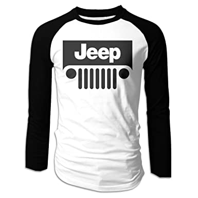 8cbf031dc01 Men s Jeep Long Sleeve T-Shirt Athletic Baseball Tee at Amazon Men s  Clothing store