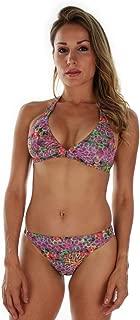 product image for TOP ONLY Tan Through Purple Fiji Halter Bikini Top