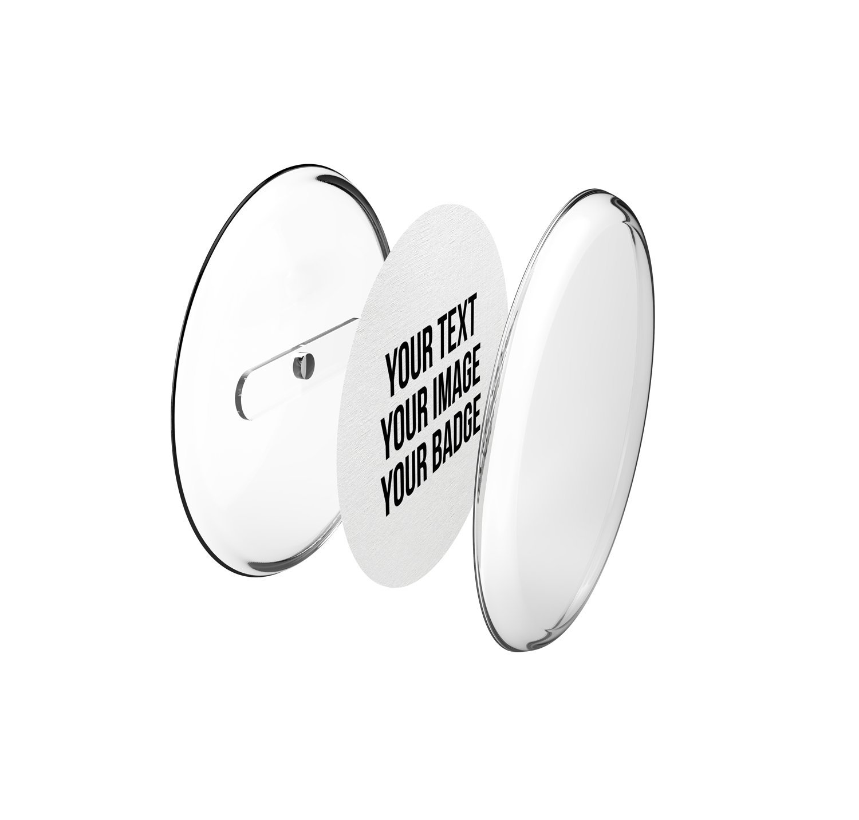 Magnet-BUTTONS 30mm fai da te per Frigorifero–Spille Set con carta A4Button mia mai Buttons