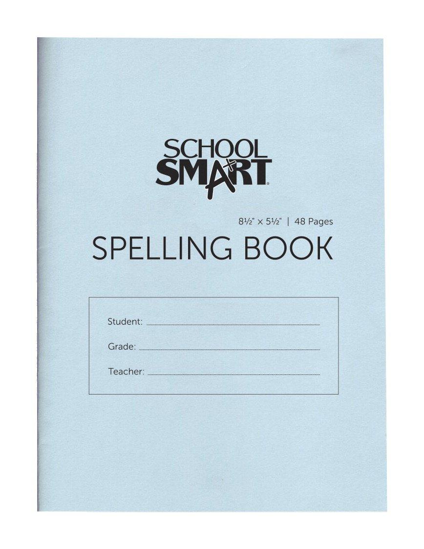 School Smart Blank 48 Page Spelling Books - 5 1/2 x 8 1/2 - Pack of 24 School Specialty 085472