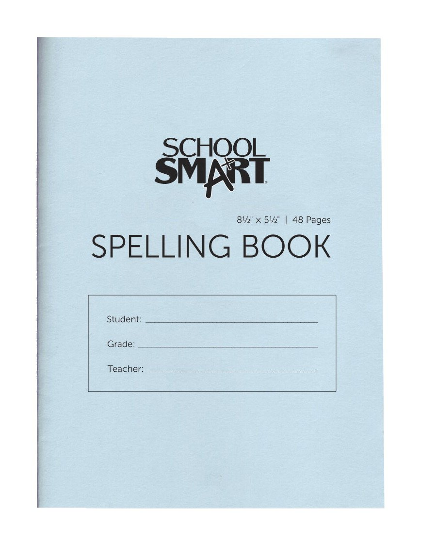 School Smart Blank 48 Page Spelling Books - 5 1/2 x 8 1/2 - Pack of 24