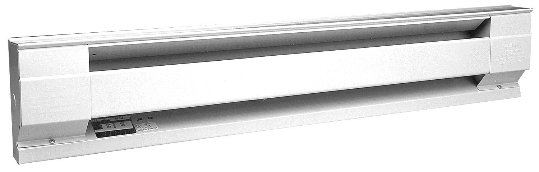 Cadet Manufacturing White 05536 120-Volt Baseboard Hardwire Electric Zone Heater 1500 W 72-Inch 12.5-Amp 1500-Watt