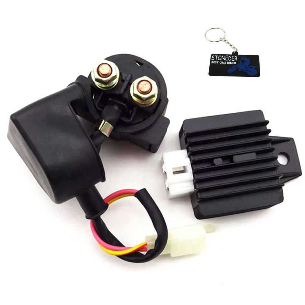STONEDER Regulator Rectifier Solenoid Relay For 50cc 110cc