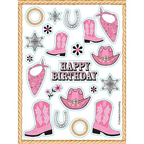 Pink Bandana Sticker Value Pack (Pink Cowgirl Sticker Sheets)