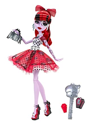 amazon com monster high dot dead gorgeous operetta doll toys games