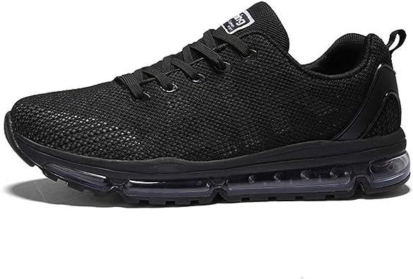 Axcone Zapatillas Hombres Mujer Deporte Running Zapatos para Correr Gimnasio Sneakers Deportivas Padel Transpirables Casual - 35EU-45EU: Amazon.es: Zapatos y complementos