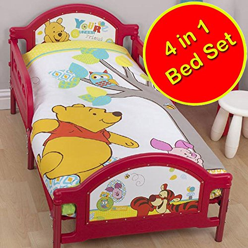 Winnie the Pooh Forest Junior/Toddler Panel Duvet Cover + Duvet + ()