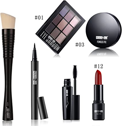 CHSEEO Paleta de Maquillaje Set Paleta de Sombras de Ojos, Juego de Maquillaje Kit de Maquillaje para Mujeres y Niñas Caja de Regalo Cosméticos #6: Amazon.es: Belleza