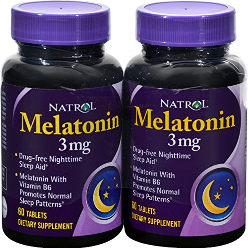 Natrol Melatonin 3Mg Twin TAB