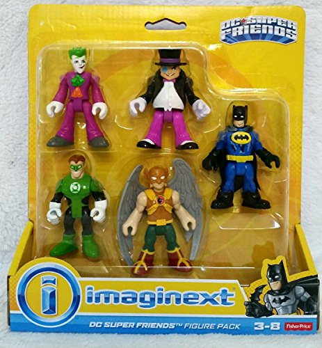 - Fisher-Price Imaginext DC Super Friends, Heroes & Villains Pack
