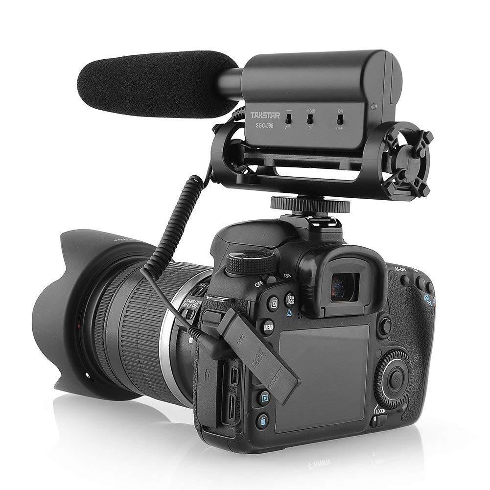 SGC-598 fotografía entrevista micrófono Escopeta micrófono para ...