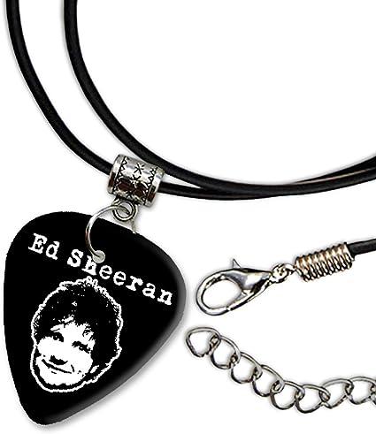 Ed Sheeran Diseño 3 Guitarra Plectrum Cord Collar Necklace bweg ...