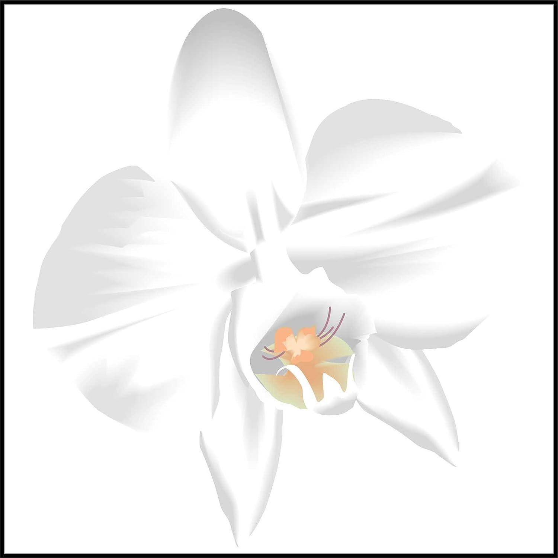 Fliesenaufkleber Fliesentattoos fü r Bad & Kü che - fü r weiß e Fliesen empfohlen - Kü chenfliesen fü r einzelne Fließ en 15x20 cm - MD436 - schö ne Blume INDIGOS UG