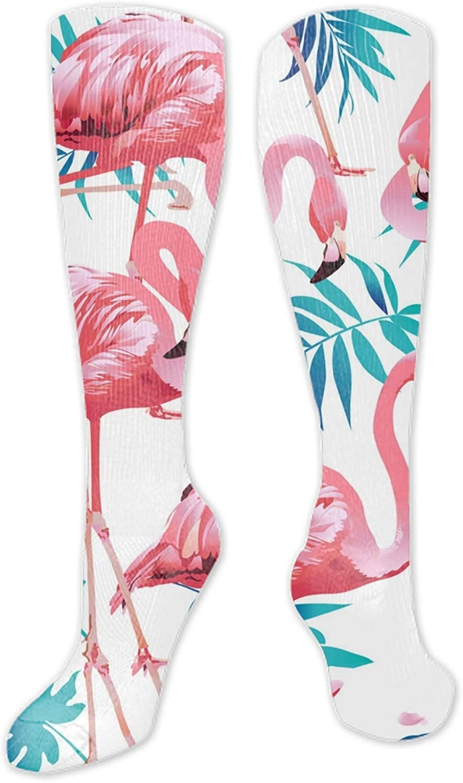 Smoke Skull Digital Painting Unisex Novelty Crew Winter Socks For Women Compression Socks